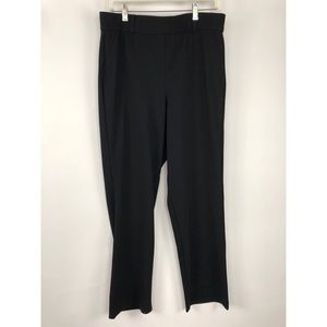 HUE Plus Size Little Black Trouser Leggings Black